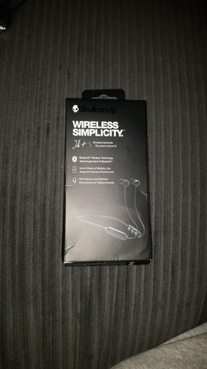 Skullcandy wireless Jib+(bluetooth earbuds) for Sale in Wyncote, PA