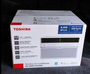 Air conditioner 8000 btu smart wi-fi Toshiba for Sale in Anaheim, CA
