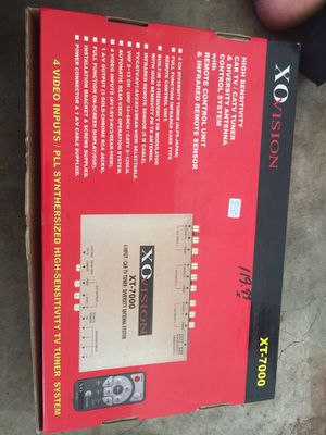 Xo vision tv tuner system 4 video input for Sale in Alexandria, LA