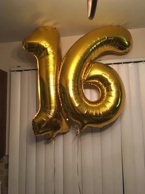Mylar Balloons- Birthday Decoration for Sale in Troy, MI