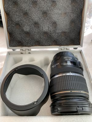 Canon 17-55 f2.8 EFS Ultrasonic for Sale in Irvine, CA