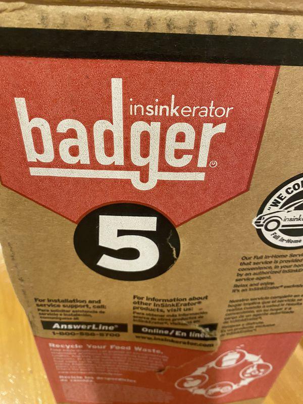 New in Box Insinkerator Badger Sink Disposal