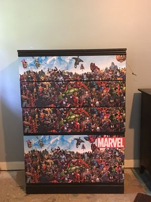 Marvel Spiderman Ironman Superhero Dresser for Sale in Conyers, GA