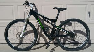 Trek Superfly100AL mountain bike with receit and manual for Sale in Glendale, AZ