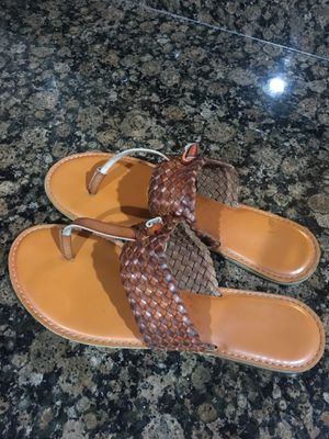 Leather Sandals size 10 for Sale in Riverview, FL