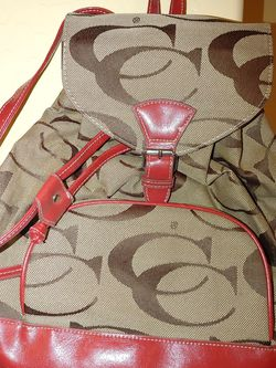 Cute red and brown Bag Pack CC new for Sale in Phoenix,  AZ