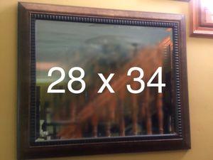 Wall mirror 28 x 34 for Sale in Miami, FL