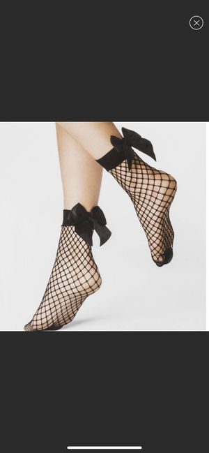 Fishnet socks with big bow for Sale in New Caney, TX