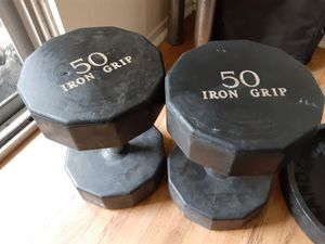 50 lb dumbbells commercial for Sale in San Diego, CA