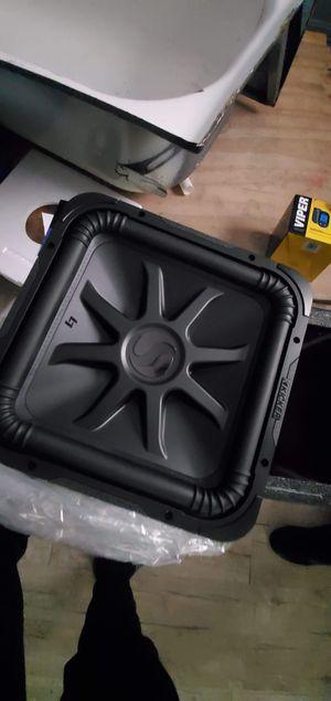 2 kicker l7s BRAND NEW 15 inch for Sale in Houston, TX