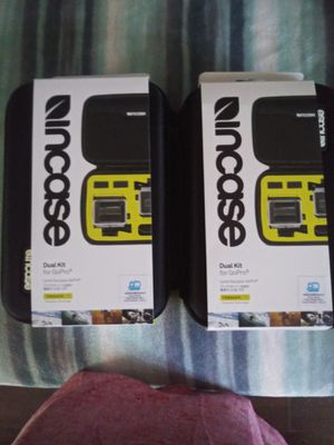 2 Incase Dual kit for GoPro for Sale in Norco, CA