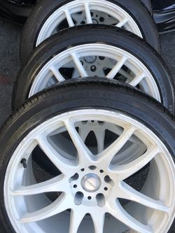 Vordoven Rims Tires 18x9,5 5x114.3 +22 Honda Accord Toyota Camry Nissan Infinity for Sale in Santa Ana,  CA