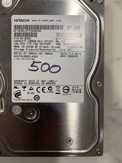Hitachi 500Gb Hard Drive for Sale in Bakersfield,  CA