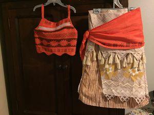 Disney Moana 3 piece Costume, size 9-10 yrs for Sale in Lake Oswego, OR