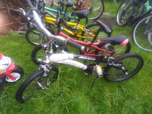 4 different bmx bikes 20 in and 18 in for Sale in Cleveland, OH