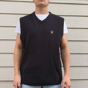🔥Men's Size XL Beverly Hills Polo Club Black Sweater Vest🔥 for Sale in Colorado Springs, CO