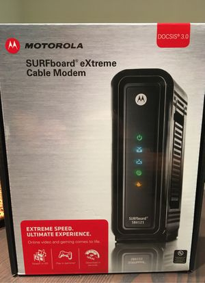 Motorola SURFboard eXtreme Cable Modem for Sale in Coronado, CA