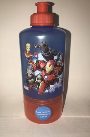 Marvel water bottle with snack container. for Sale in Silver Spring, MD