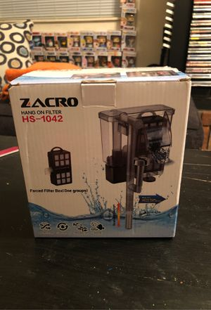 ZACRO hang on filter for Sale in Denver, CO