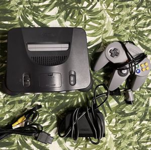 N64 - Nintendo 64 Console + Controller + Power/AV - Tested & Working for Sale in Warwick, RI