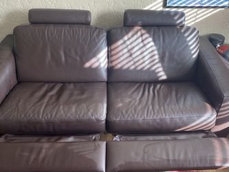 Leather Reclining Loveseat for Sale in Portland,  OR