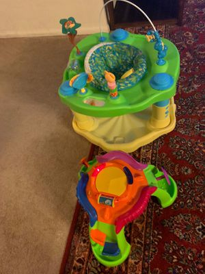 ExerSaucer Jumper and Fisher Price Play toy for Sale in Annandale, VA