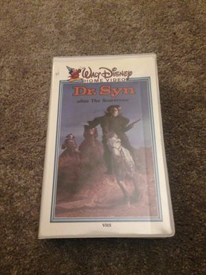 Disney rare vintage vhs dr. Syn for Sale in Southbury, CT