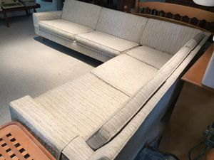 Mid century modern two-piece couch for Sale in West Alton, MO