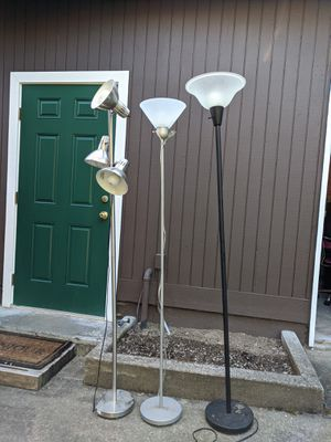 Torch lamps - floor lamps for Sale in Seattle, WA