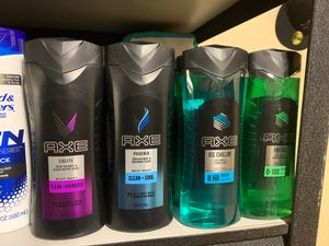 Axe body wash $3 each for Sale in Moreno Valley, CA
