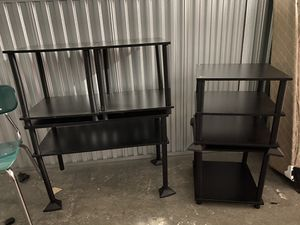 Tables / stackable shelf for Sale in Alpharetta, GA