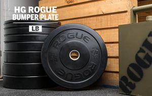 Rogue Fitness HG2.0 Bumper Plate Set for Sale in Plainfield, IL