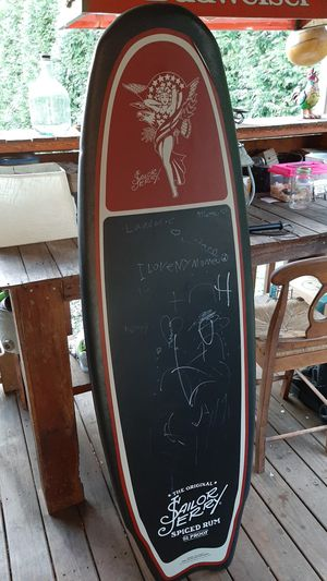 Chalkboard/surfboard for Sale in Mocksville, NC