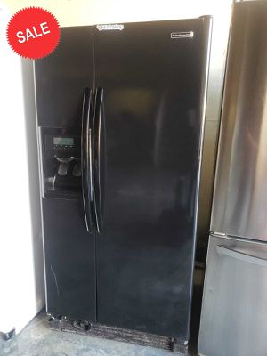 💎💎💎Black KitchenAid Refrigerator Fridge 33 in. Wide #1449💎💎💎 for Sale in Riverside, CA