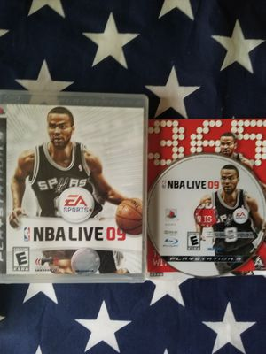 NBA LIVE 09 (PS3) for Sale in US