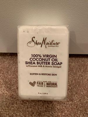 Shea Moisture coconut oil Shea butter soap 8 oz for Sale in Alexandria, VA