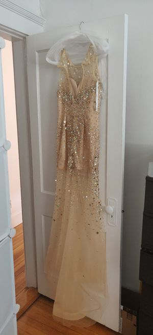 Dress Jewel gown, prom dres Size: S for Sale in Boston, MA