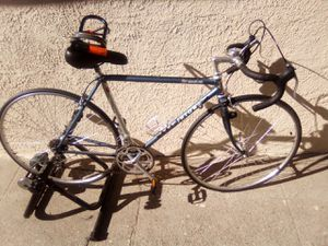 Japanese Centurion le mans RS road bike with lock and indoor trainer. for Sale in Los Angeles, CA