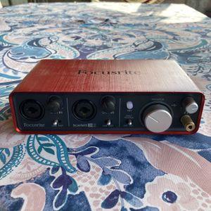 Scarlett Focusrite 2i2 Audio Recording Interface for Sale in Whittier, CA