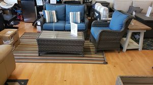 Brand New Patio Furniture Loveseat and two chairs and Coffee Table tax included and free delivery for Sale in Hayward, CA