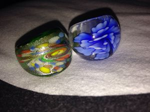 antique glass rings for Sale in Gallatin, TN