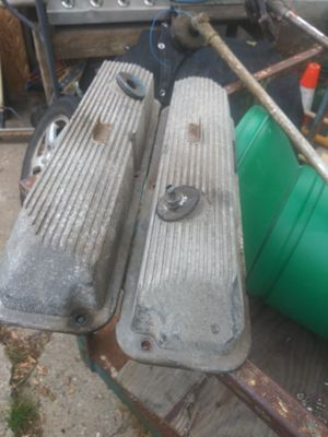 Small block Ford old-school aluminum valve covers 302 289 for Sale in Warren, MI