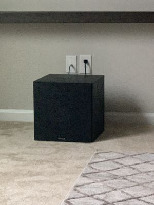 Polk audio sub woofer (new ) no issues or scratches for Sale in Suffolk, VA