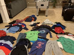 Lots of boy clothes, pants, shorts, short and long sleeve shirts, sweatshirts, pajamas etc for Sale in Sterling, VA