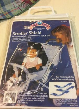 Stroller shield protect your baby from wind and rain cold for Sale in Boston, MA