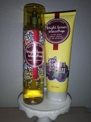 Bath and Body Works Bright Lemon Snowdrop for Sale in Chula Vista, CA