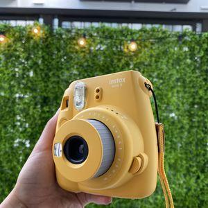 Yellow Polaroid Intax mini for Sale in San Diego, CA