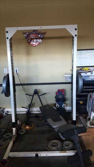 Self locking squat rack for Sale in Queen Creek, AZ