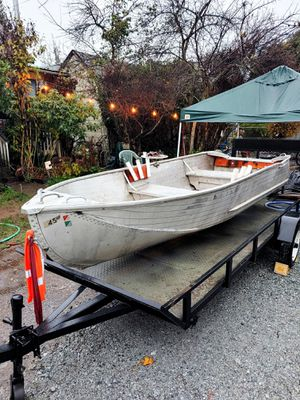 12ft aluminum boat for Sale in Kent, WA