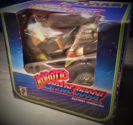 Vintage ROBOTIC SPACE BUGGY MIB 1980s FU SHIN TOYS In Box...Clean! for Sale in Oak Lawn,  IL